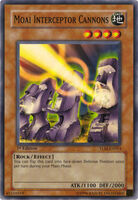 Yu-Gi-Oh Cañones interceptadores Moai