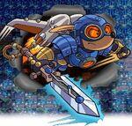 Rocket Knight - Sparkster arte 2