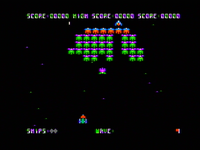 Galaxian Apple II