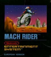 Mach Rider - Portada EUR
