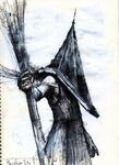 Silent Hill 2 - Pyramid Head concept 3