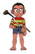 Pro Golfer Saru
