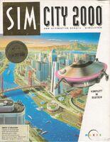 SimCity 2000 - portada Amiga EUR