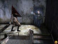 Silent Hill 2-Piramyd head boss