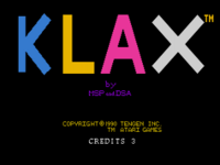 Klax TurboGrafx-16 captura1
