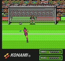 Konami Hyper Soccer captura5