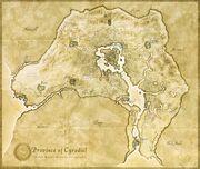 Mapa cyrodiil