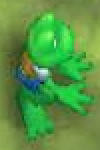 Frogger Ancient Shadow Frogger Sprite