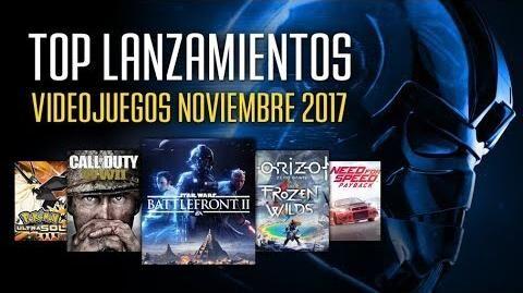 Los mejores videojuegos que se lanzan en noviembre 2017