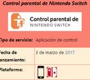Control parental de Nintendo Switch