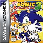 Sonic Advance portada