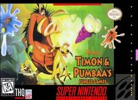Timon & Pumbaa's Jungle Games portada SNES