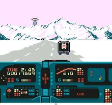 Knight Rider NES captura4