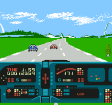 Knight Rider NES captura3