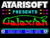 Galaxian ZX Spectrum TÍTULO