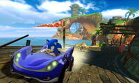 Sega all stars racing
