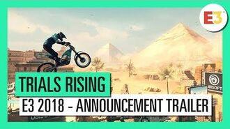 Trials® Rising - E3 2018 - Announcement Gameplay Trailer