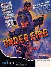 Under Fire Flyer USA