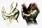 Silent Hill 2 - Pyramid Head concept 2