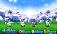 Kirby Fighters Deluxe - Dyna Blade's Nest