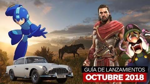 Guía de lanzamientos octubre 2018 – IGN Latinoamérica