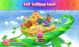 Kirby Triple Deluxe - Nivel 2