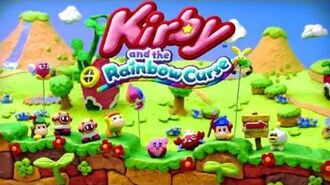 Kirby and the Rainbow Curse Music - Title Theme