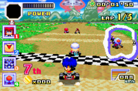 Konami Krazy Racers Goemon