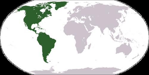 América mundo