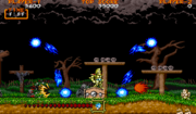 Ghouls 'n Ghosts - Magia antorcha