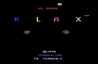 Klax Atari 2600 captura1