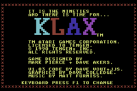 Klax C64 captura1