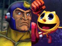 Mega Man vs Pac-Man