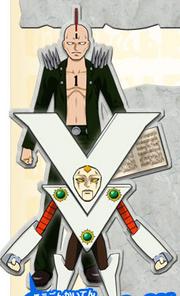 Victoream & Mohawk Ace Mamodo Fury