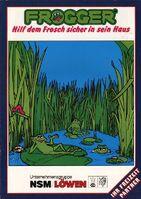 Frogger Arcade portada Alemania