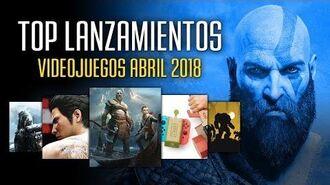 Los mejores videojuegos que se lanzan en abril 2018