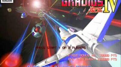 Gradius IV Uranus OST