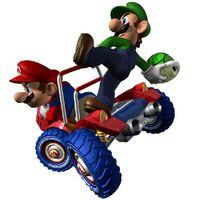 Mario y Luigi - Mario Kart DD