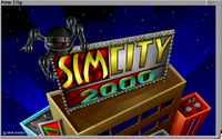 SimCity 2000 - Amiga - título