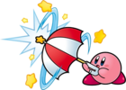 Kirby Super Star Ultra Sombrilla