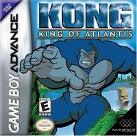 Kong- King of Atlantis portada