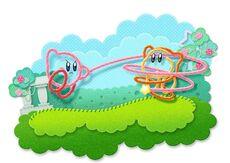 Kirby's Epic Yarn latigo