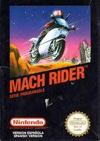 Mach Rider - Portada ESP