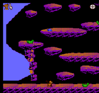 The Lion King NES captura nivel