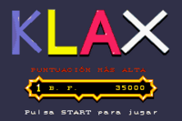 Klax Game Boy Advance captura1