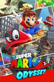 Super Mario Odyssey - Box NA