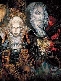 Alucard Dracula Castlevania Simphony