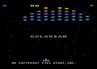 Galaxian Atari 8-bit TÍTULO