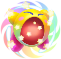 Kirby Triple Deluxe - Hipernova Kirby