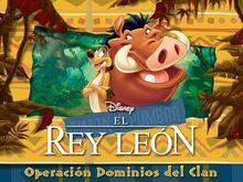 El Rey León Operación Dominios del Clan titulo